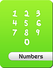 Numbers and counting up to 5
